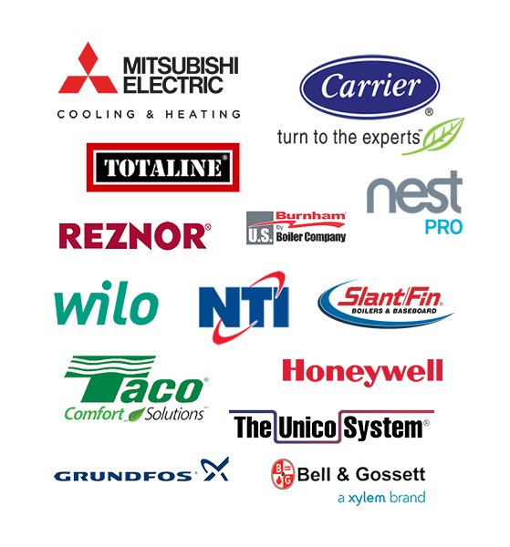 Neumann Plumbing & Heating - HVAC Brands
